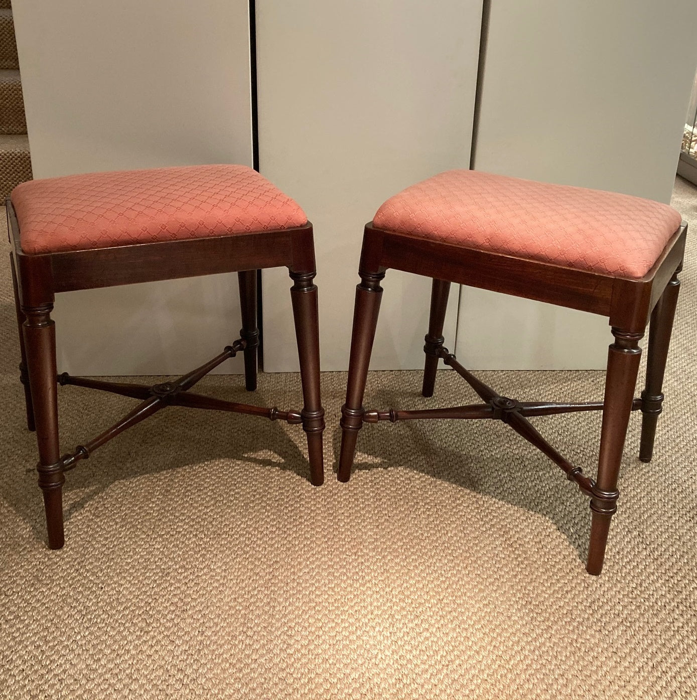 Pair of Gillows Stools