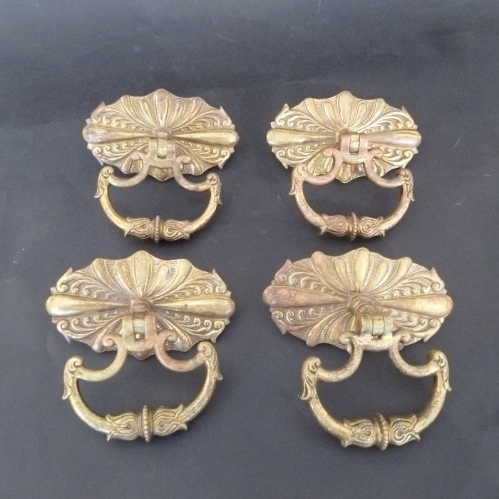Set of 4 Cabinet Drop Handles (1859)