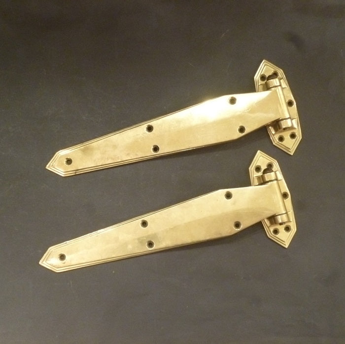 Pair of Art Deco Hinges (1996)