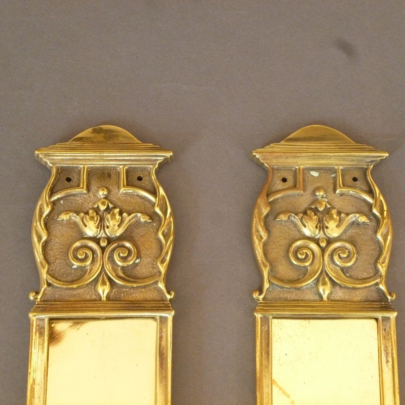 Pair of Edwardian Neo-Classical T Plates (2347)