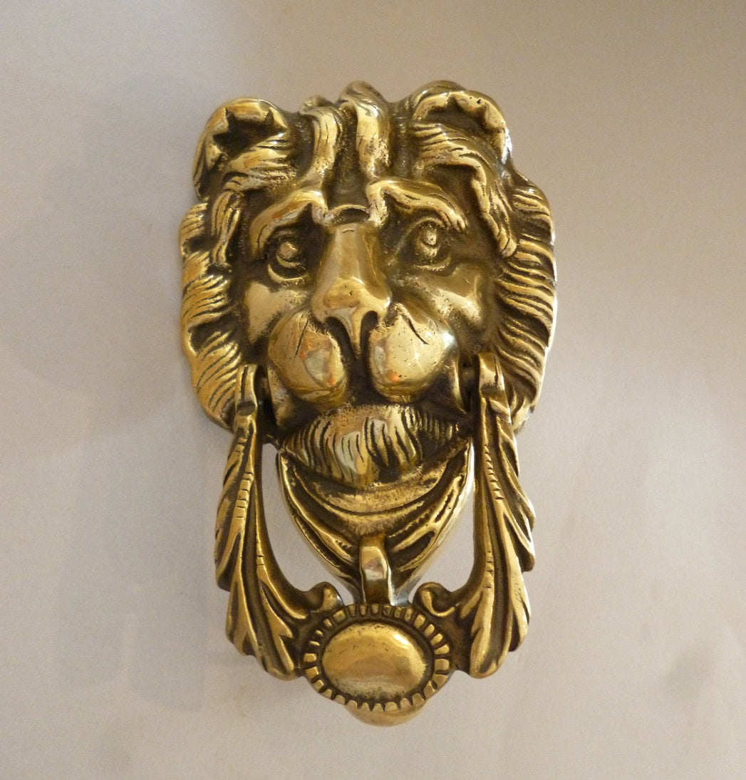 Lion Mask Door Knocker (2861)
