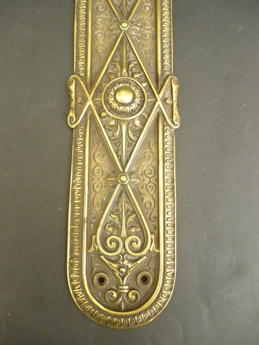 Pair of Victorian Door Plates (3171)