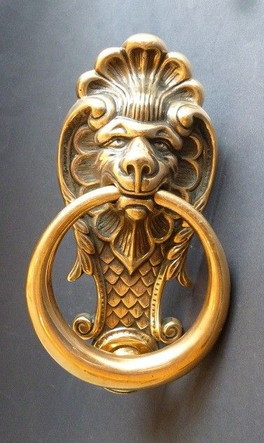 Lion mask Door Knocker  (1365)