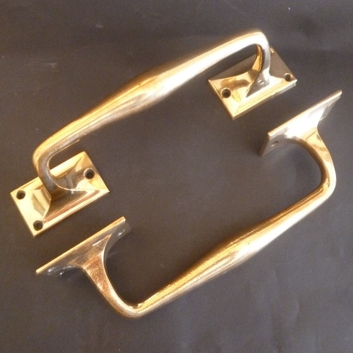 Pair of Bronze Door Pulls (3244B)