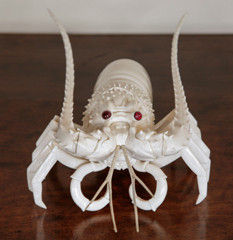 Ivory Lobster   Circa 1900