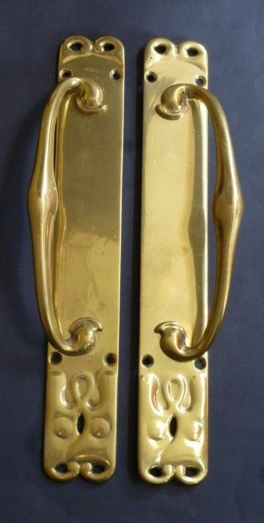Pair of Long Door Pulls  (14349)
