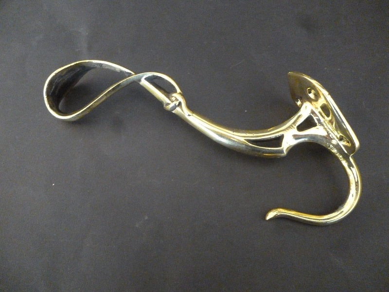Set of 6 Art Nouveau Double Hooks (6239)