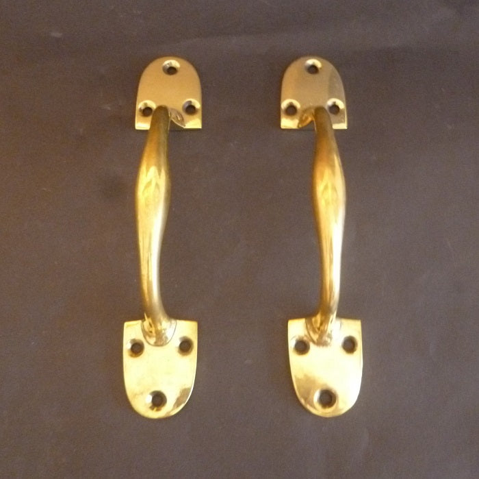 Pair of Victorian Door Pulls (6246)