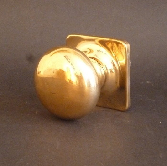 Edwardian Bronze Centre Door Pull (6651)