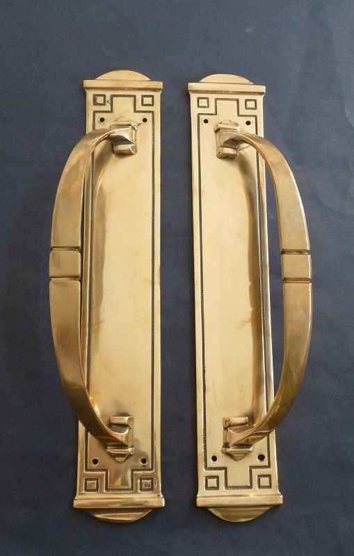 Pair of Long Door Pulls (1212)