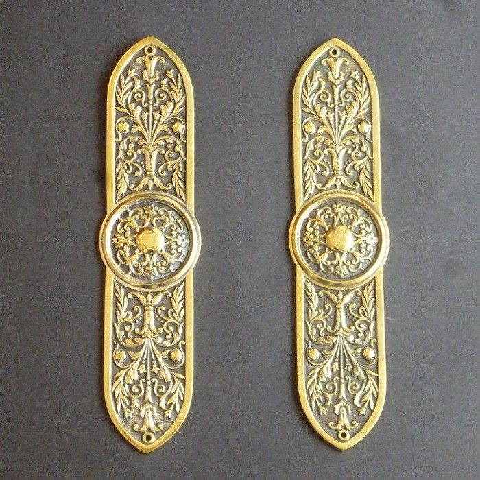 Pair of Door Plates (1920)