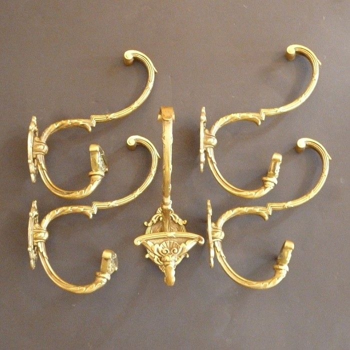 Set of 5 French Double Hooks (2220)