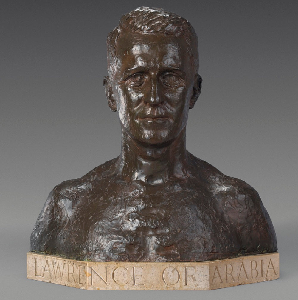 Bronze Bust of Lawrence of Arabia by Sir Charles Wheeler