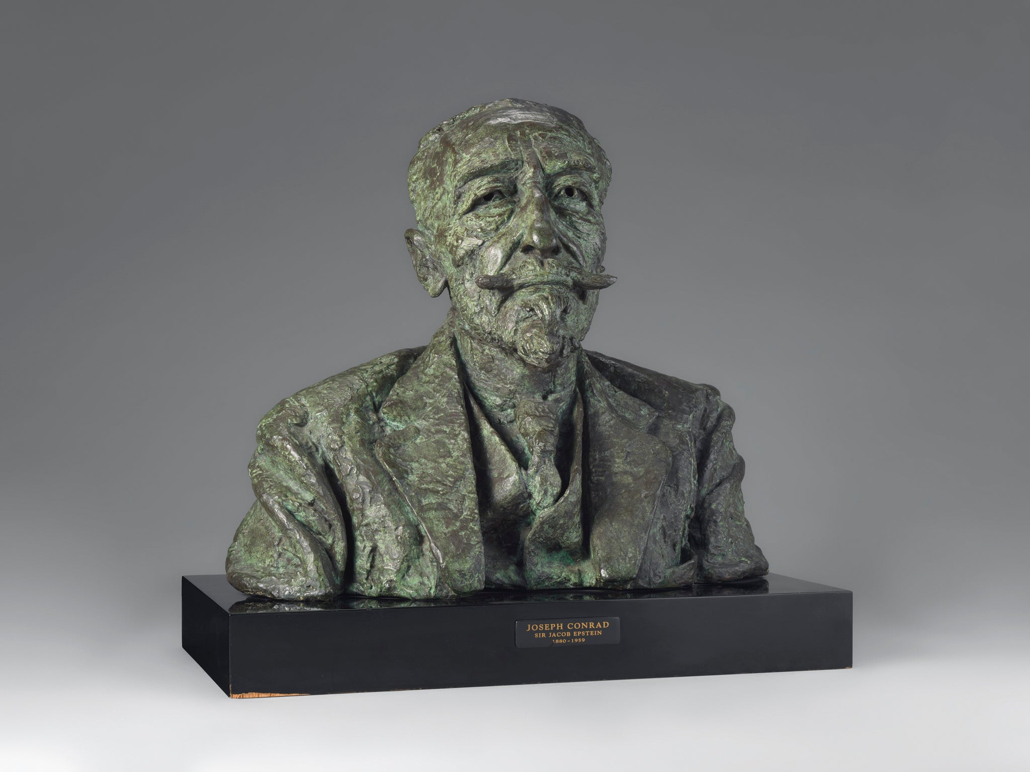 The Iconic Bronze Bust of Joseph Conrad by Sir Jacob Epstein (1880-1959)