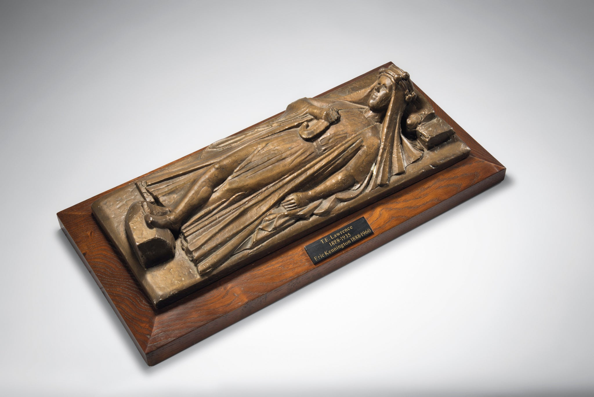 Recumbent Effigy of T.E. Lawrence by Eric Kennington, R.A. (1888-1960)