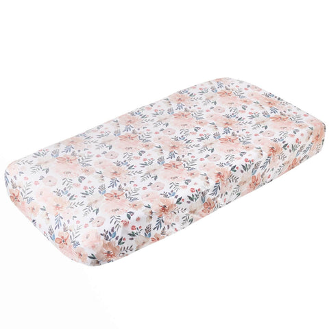 Copper Pearl Diaper Changing Pad Covers - Autumn