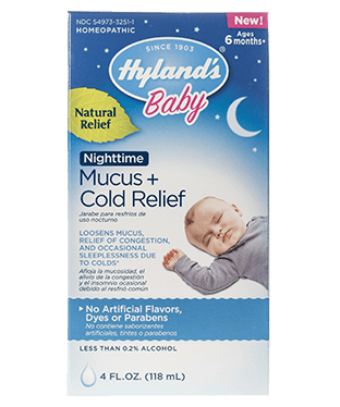Hyland's Baby Mucus + Cold Relief Nighttime