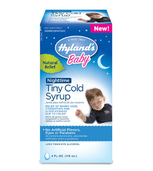 Hyland's Baby Tiny Cold Syrup Nighttime