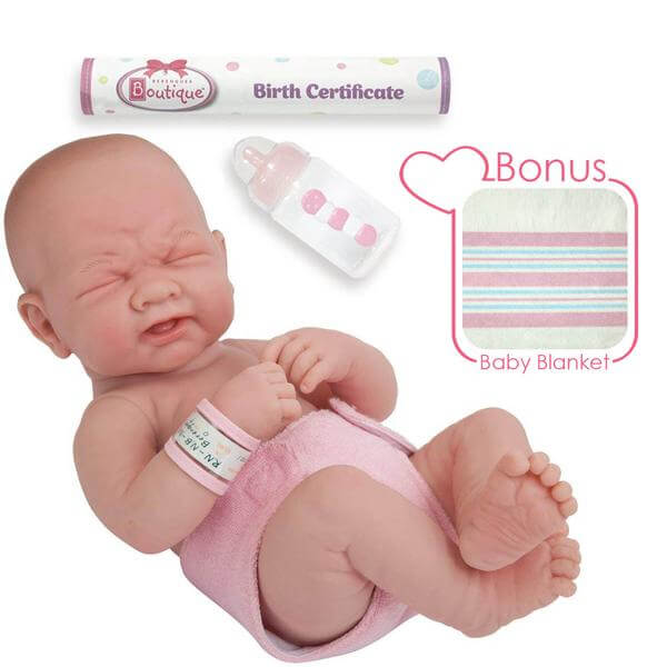 "Newborn Doll 14"" Real Girl or Real Boy"