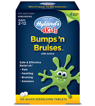 Hyland's 4Kids Bumps 'n Bruises With Arnica Tablets