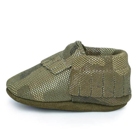 Rock Baby Moccasins - Camo