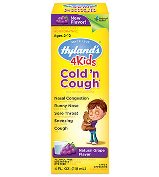 Hyland's 4Kids Cold 'N Cough