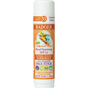 Kids Sunscreen Face Stick - SPF 35