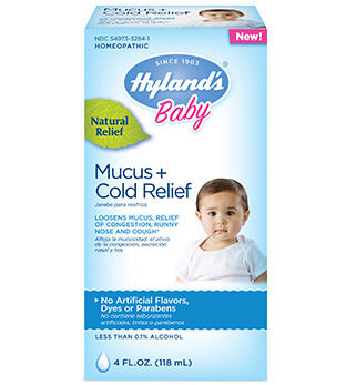 Hyland's Baby Mucus + Cold Relief Liquid