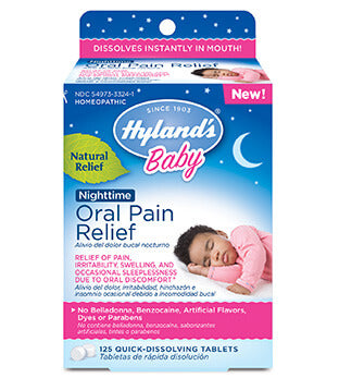 Hyland's Baby Oral Pain Relief Nighttime