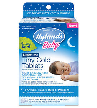 Hyland's Baby Tiny Cold Tablets Nighttime