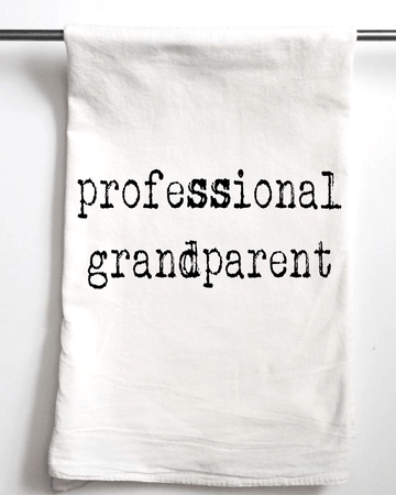 Grandparent Flour Sack Towel