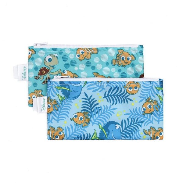 Bumkins Reusable Snack Bags, 2 pack Small