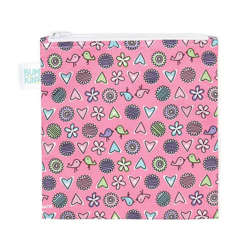 Bumkins Reusable Snack Bag, Large
