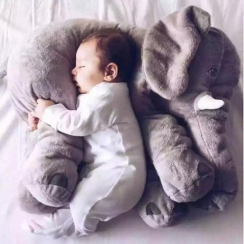 Stuffed Plush Elephant Pillow - Toys Free Delivery