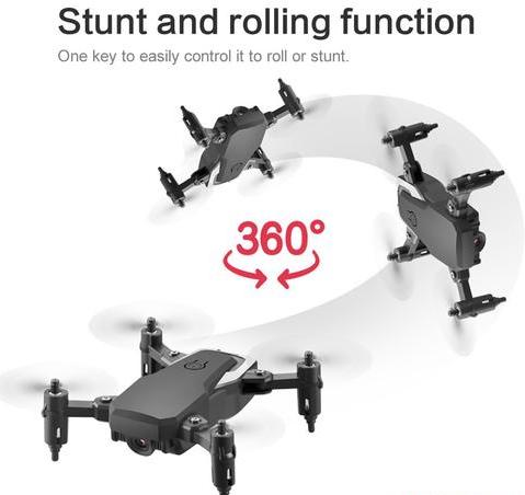 Mini Quadcopter Drone with 4K HD Camera - Toys Free Delivery