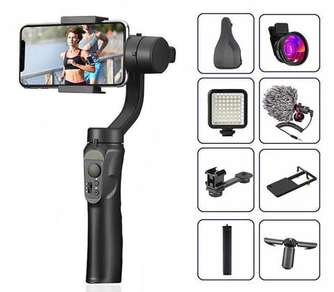 H4 3 Axis Universal Smartphone Gimbal Stabiliser - Toys Free Delivery