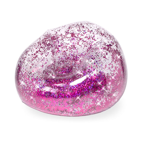 Inflatable Glitter Bean Bag Chair Toys Free Delivery