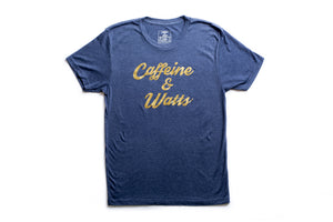 Caffeine and Watts T-shirts