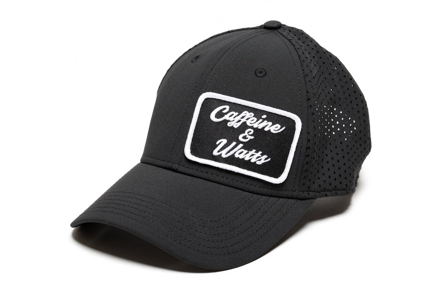 Caffeine and Watts Patch Hat