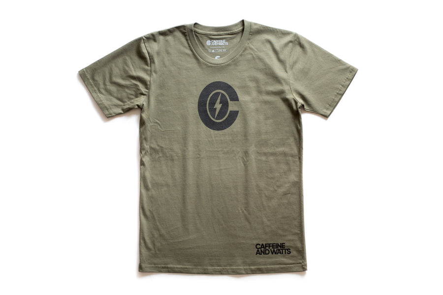 Caffeine & Watts Icon Tee Shirt