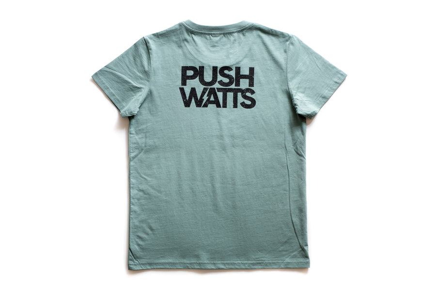 Caffeine & Watts Full Logo Tee - Women's