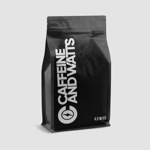 Caffeine and Watts 4.0 w/kg Premium Whole Bean Coffee