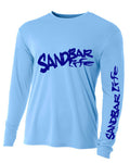 Sandbar Life Cooling Long Sleeve Man Light Blue