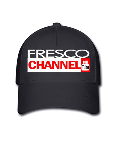 Fresco Channel Cap Black