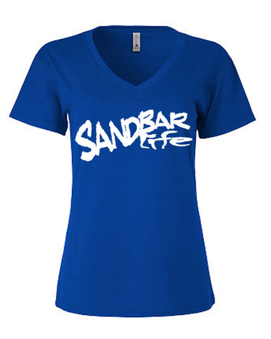 Women Blue Sandbar Shirt