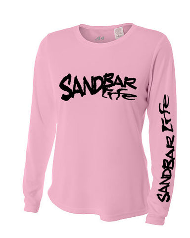 Sandbar Life Cooling Long Sleeve Lady's Pink