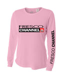 Lady's Pink Sun Cooling Long Sleeve