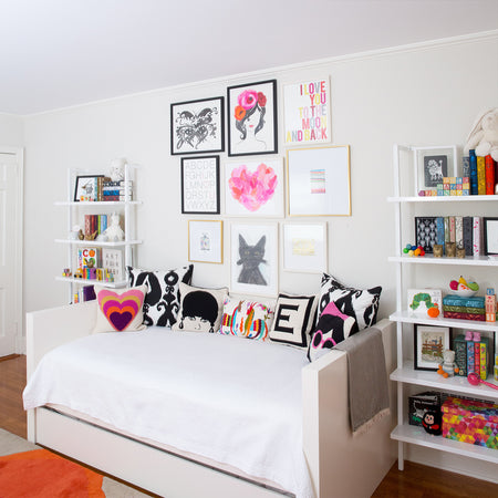 Look Inside Elle's Bright, Art-Inspired Nursery!