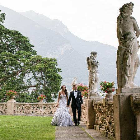 A Romantic Seaside Wedding at Villa Pizzo in Lake Como, Italy