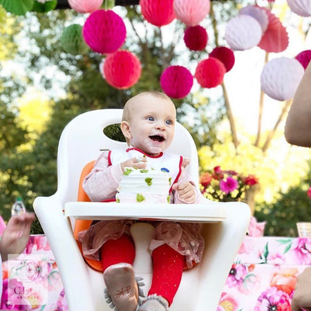 Bright and Poppy Blossom 1st Birthday Party in San Diego, California